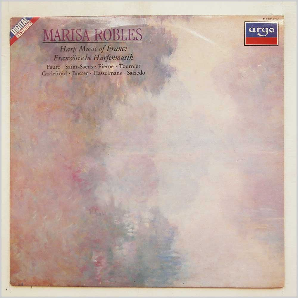 Marisa Robles - Harp Music Of France (411 822-1)