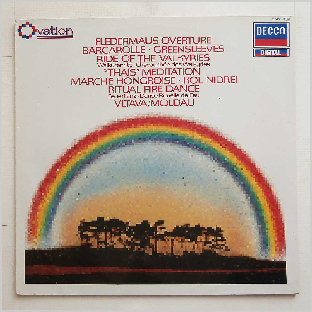 Various - Fledermaus Overture, Barcarolle, Greensleeves, Ride Of The Valkyries (417 455-1)