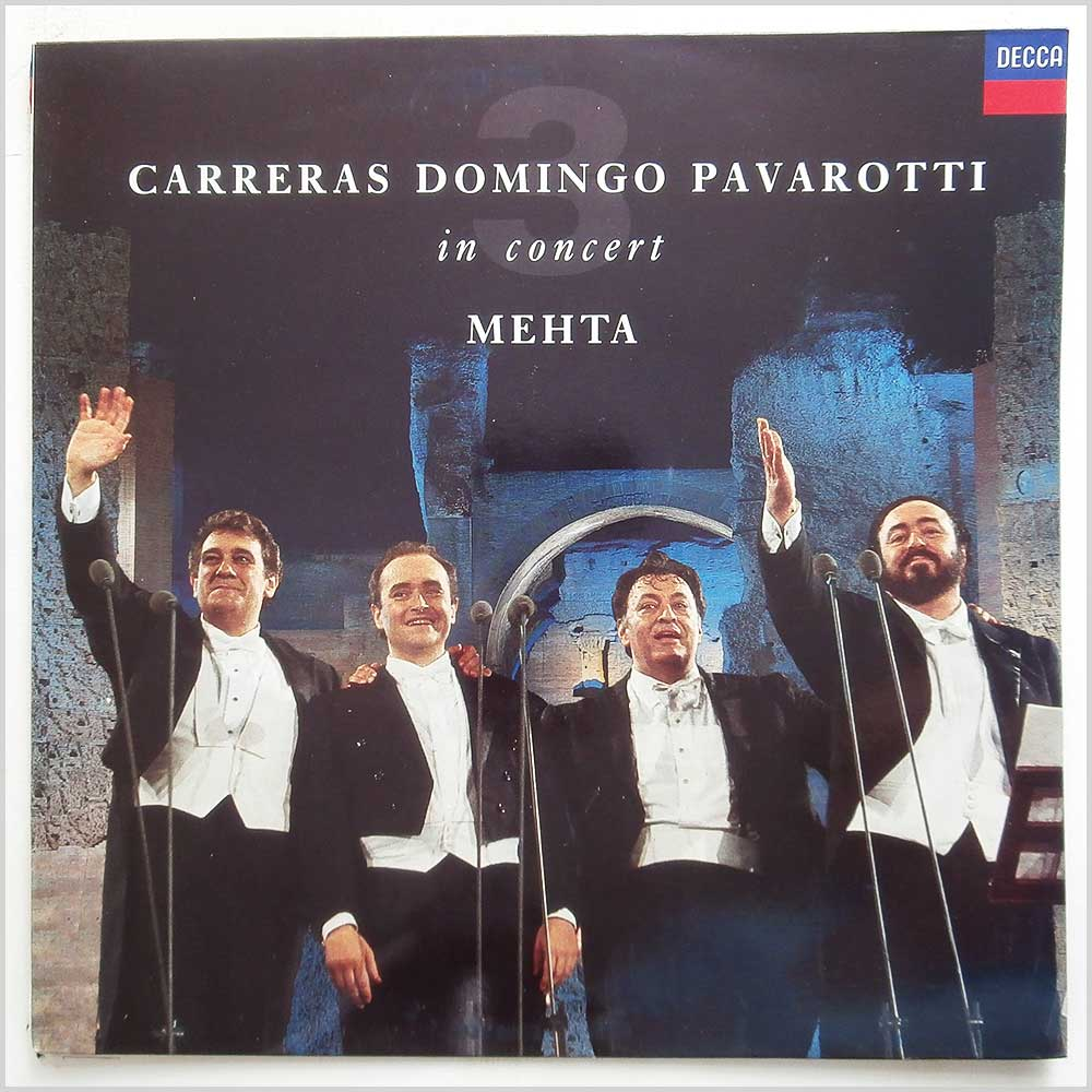 Carreras, Domingo, Pavarotti, Mehta - In Concert (430 433-1)