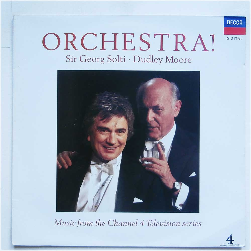 Sir George Solti with Dudley Moore - Orchestra: Music From the Channel 4 Television Series (430 838-1)