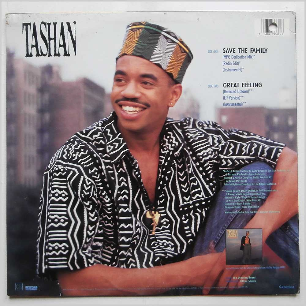 Tashan - Save The Family (44-73386)