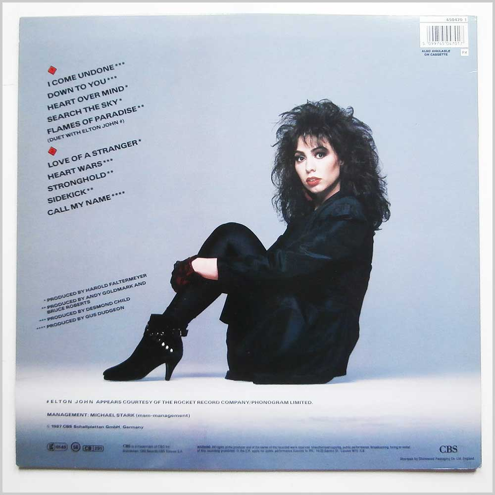 Jennifer Rush - Heart Over Mind (450470-1)