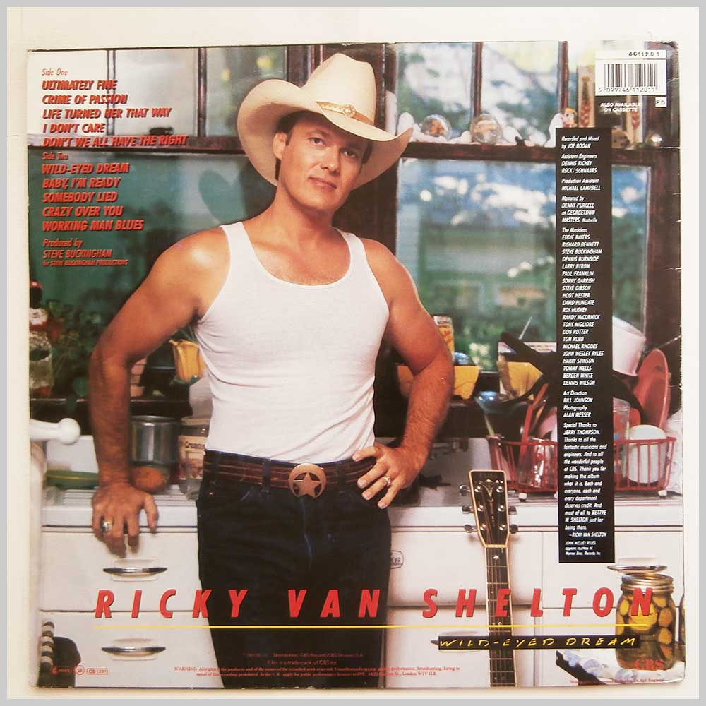 Ricky Van Shelton - Wild-Eyed Dream (461120 1)