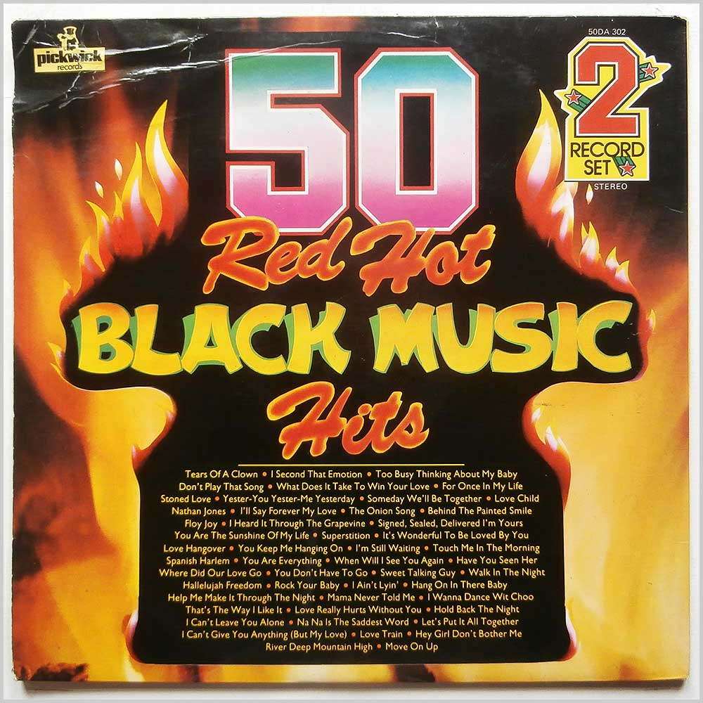 Various - 50 Red Hot Black Music Hits (50DA 302)