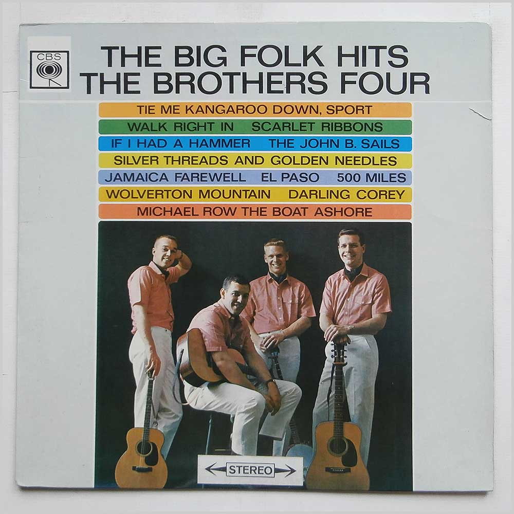 The Brothers Four - The Big Folk Hits (62194)