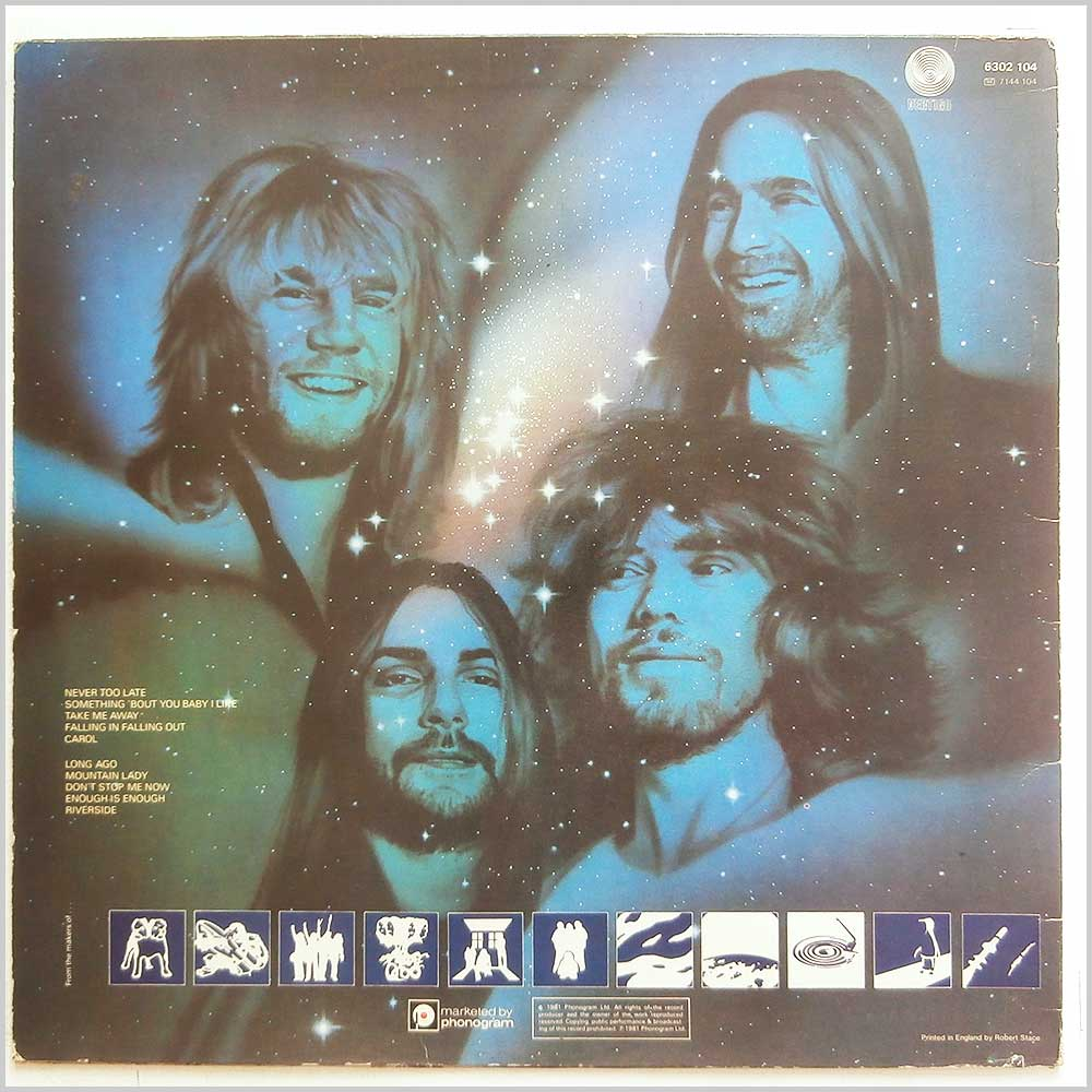 Status Quo - Never Too Late (6302 104)