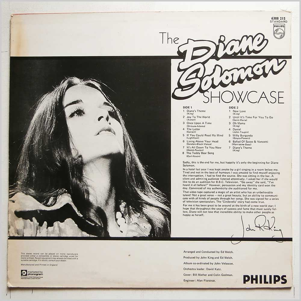 Diane Solomon - The Diane Solomon Showcase (6308 215)