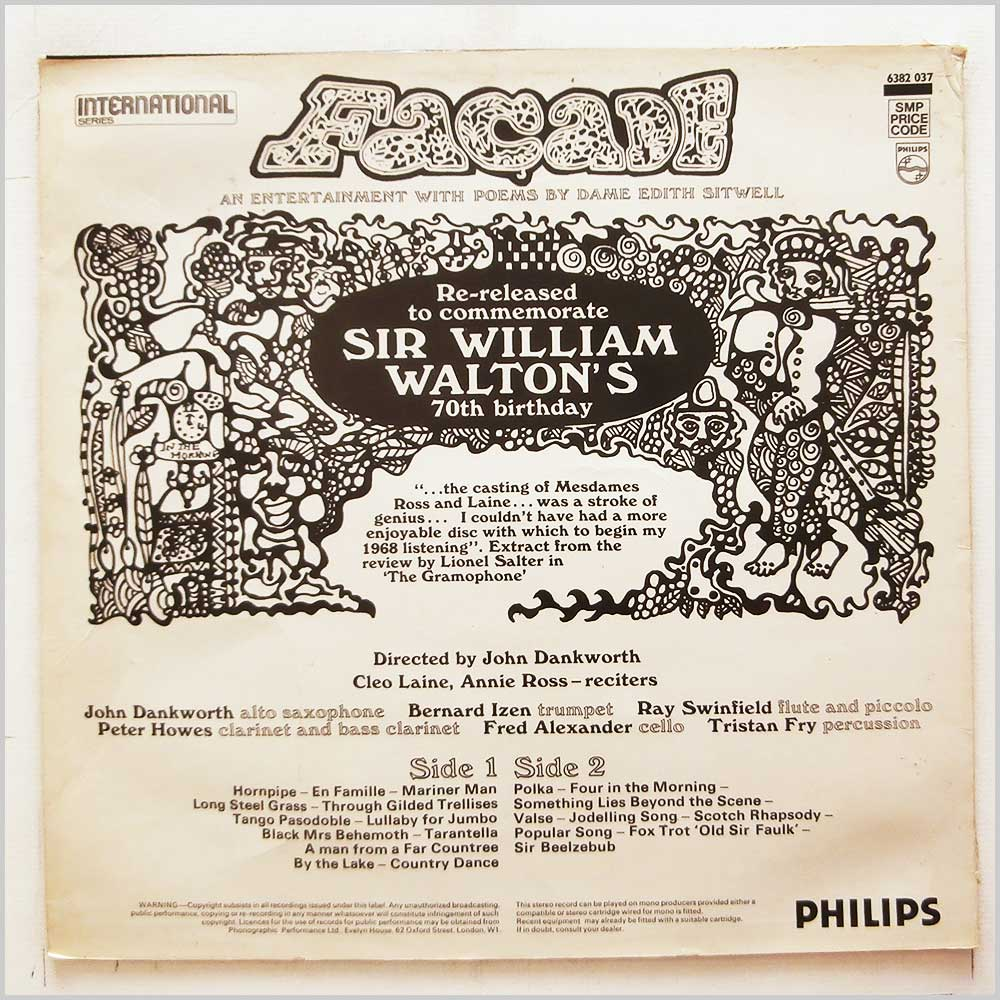 Cleo Laine, Annie Ross - Sir William Walton's Facade (6382 037)