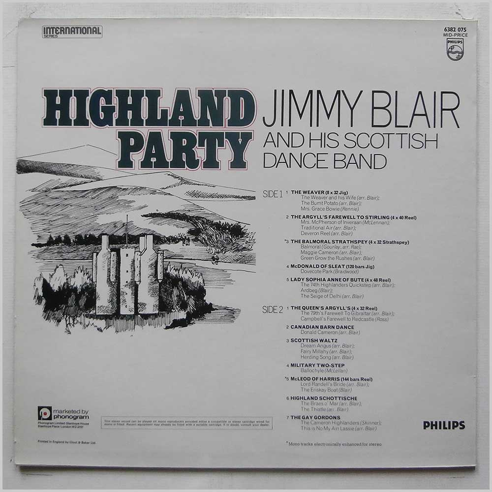 Jimmy Blair and His Scottish Dance Band - Highland Party (6382 075)