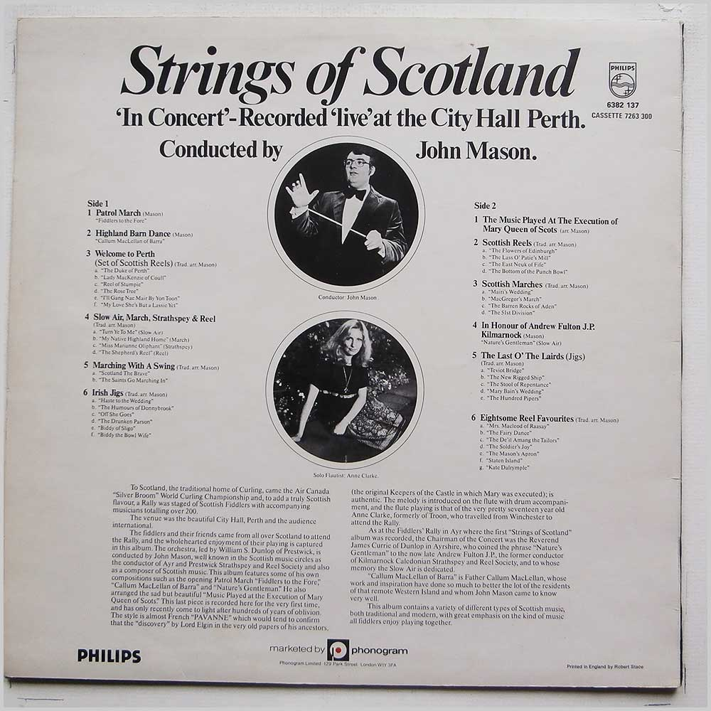 John Mason - Strings Of Scotland (6382 137)