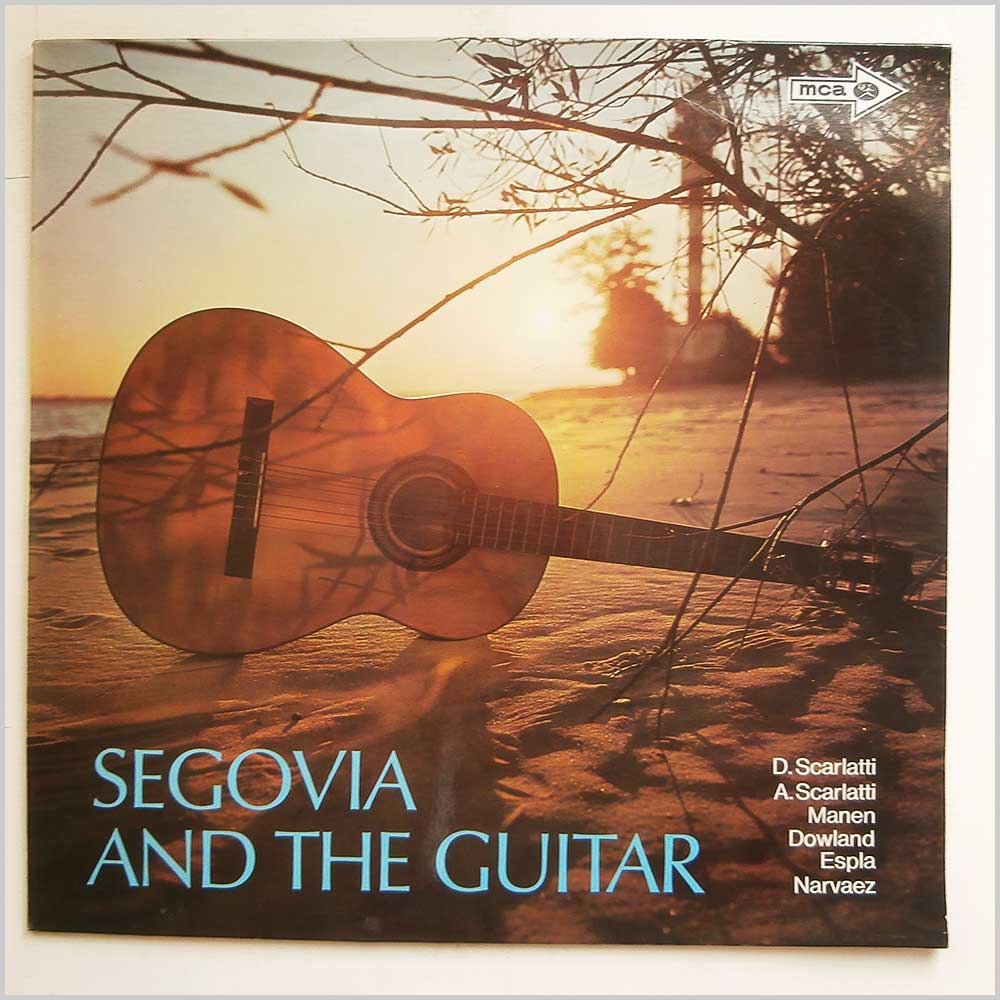 Andres Segovia - Segovia And The Guitar (6.41814 AS)