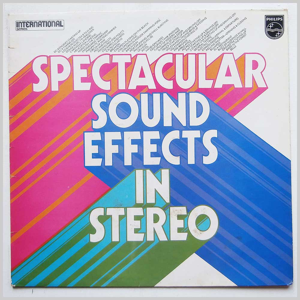 Various - Spectacular Sound Effects In Stereo (6440034)