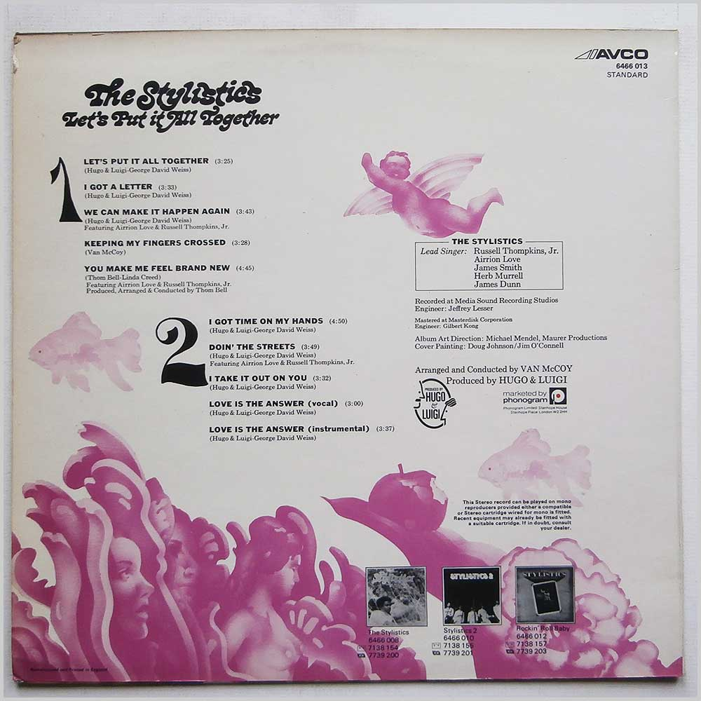 The Stylistics - Let's Put It All Together (6466 013)