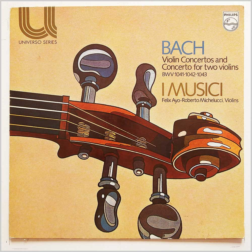 I Musica - Bach: Violin Concertos and Concerto For Two Violins (6580 021)