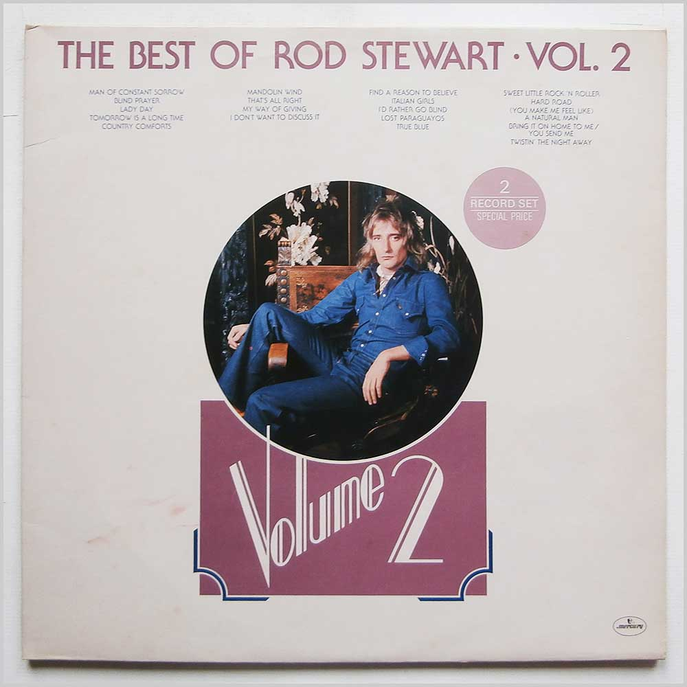 Rod Stewart - The Best Of Rod Stewart Vol.2 (6619 031)