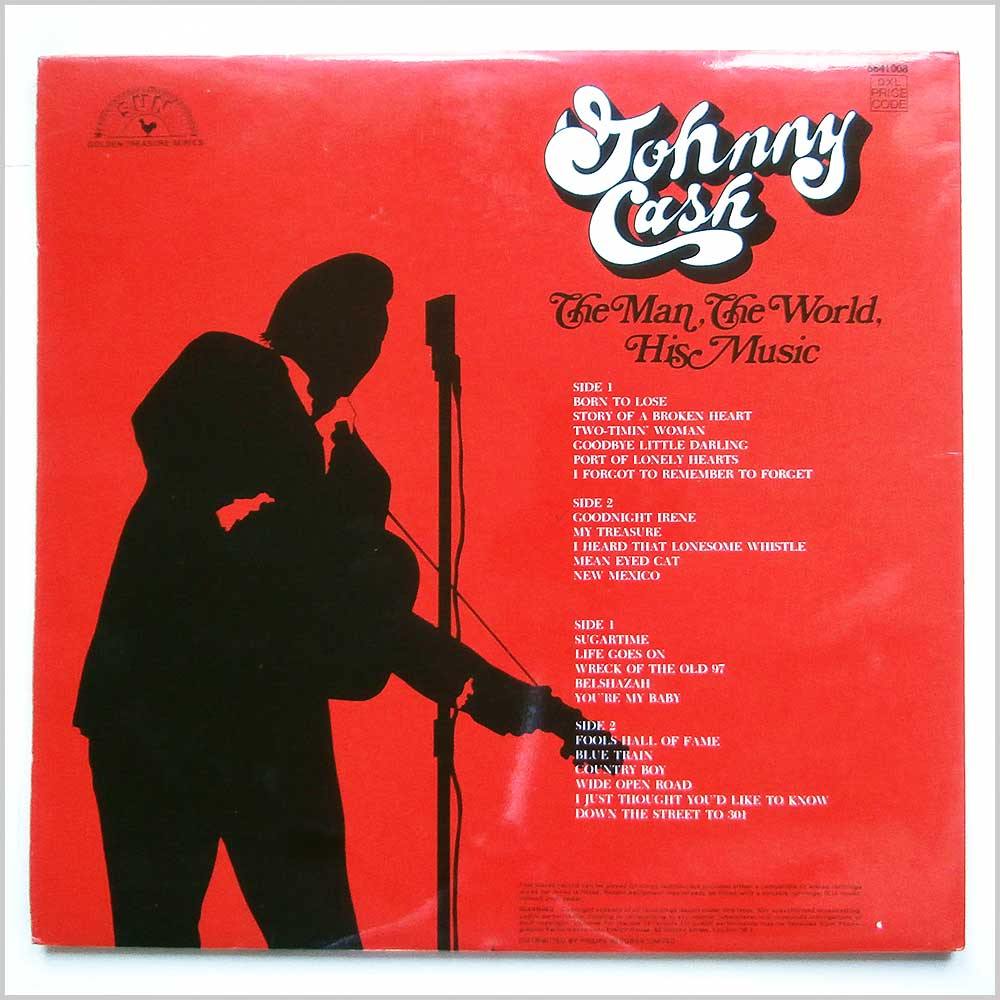 Johnny Cash - The Man, The World, His Music (6641008)
