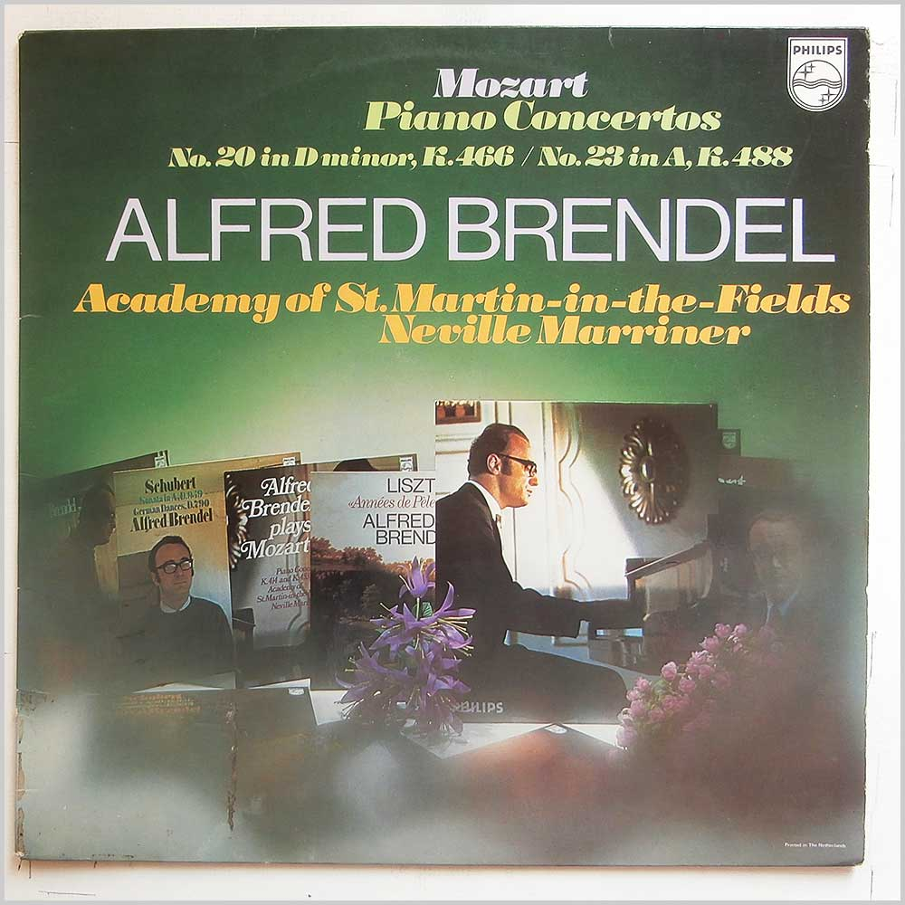 Alfred Brendel - Mozart Piano Concertos: No.20 In D Minor, K.466, No.23 In A, K.488 (6833 119)