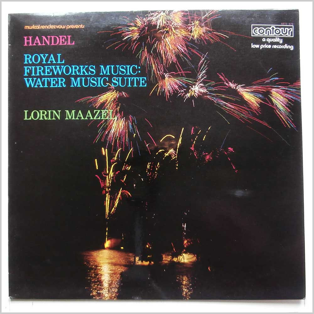 Lorin Maazel, RSO Berlin - Handel: Music For The Royal Fireworks, Water Music (6870 579)