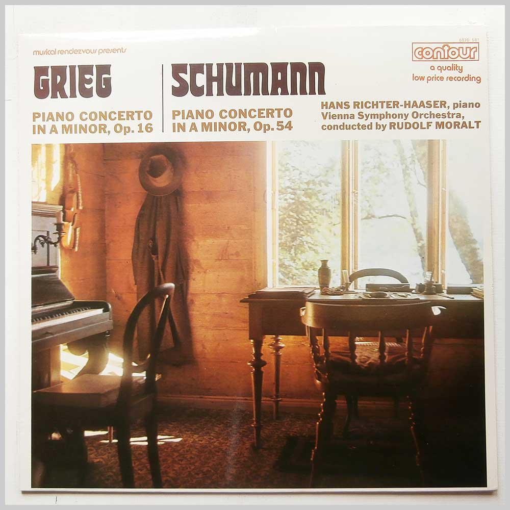 Hans Richter-Haaser - Greig: Piano Concerto in A Minor Op.16, Schumann: Piano Concerto in A Minor Op.54 (6870 581)