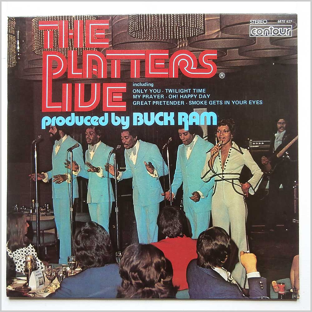 The Platters - The Platters Live (6870 627)