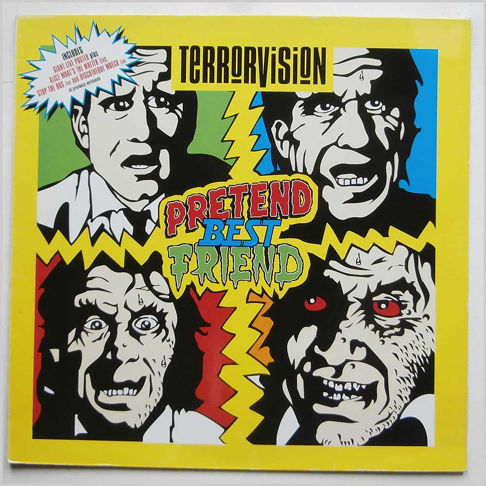 Terrorvision - Pretend Best Friend (7243 8 81644 6 7)