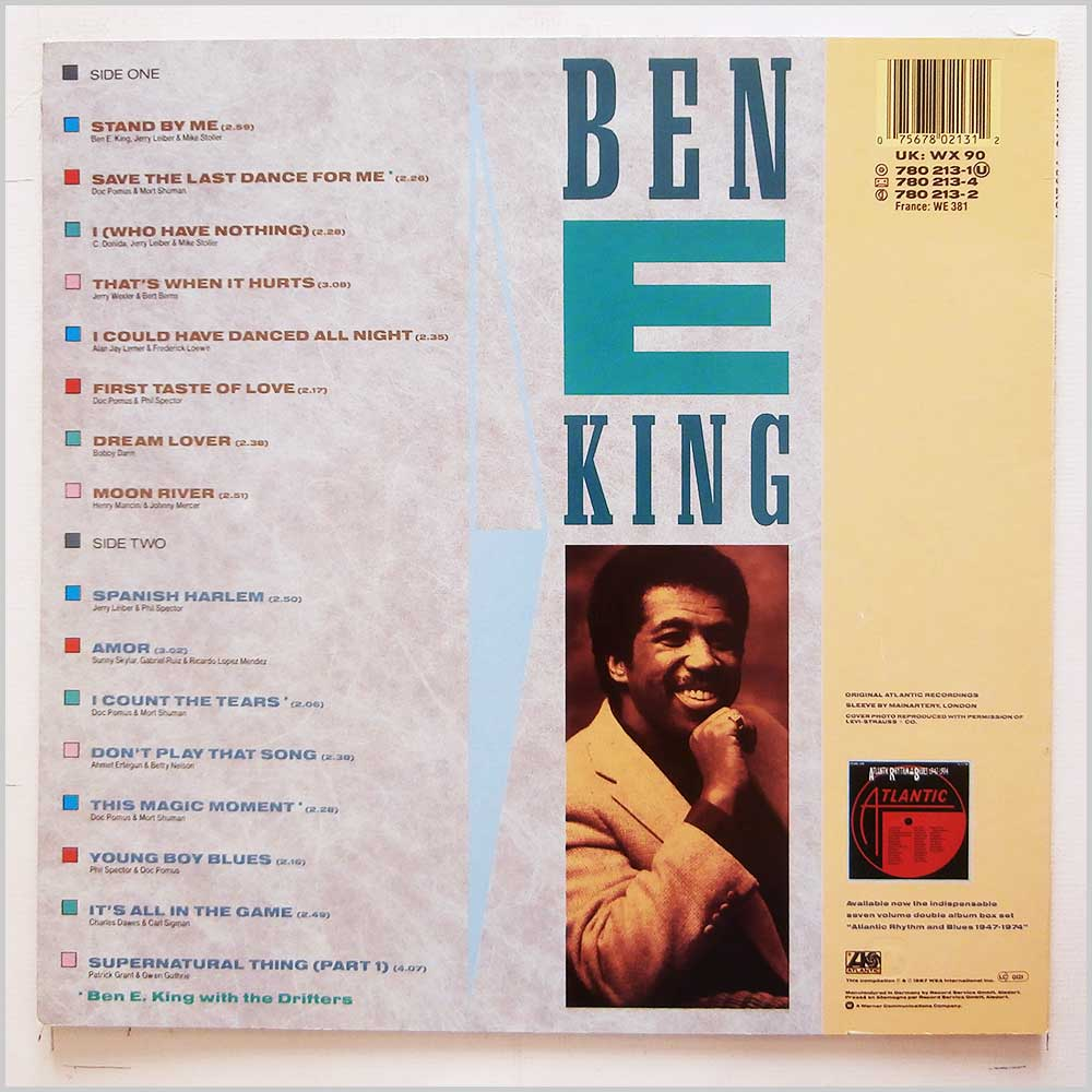 Ben E. King - The Ultimate Collection: Stand By Me (780 213-1)
