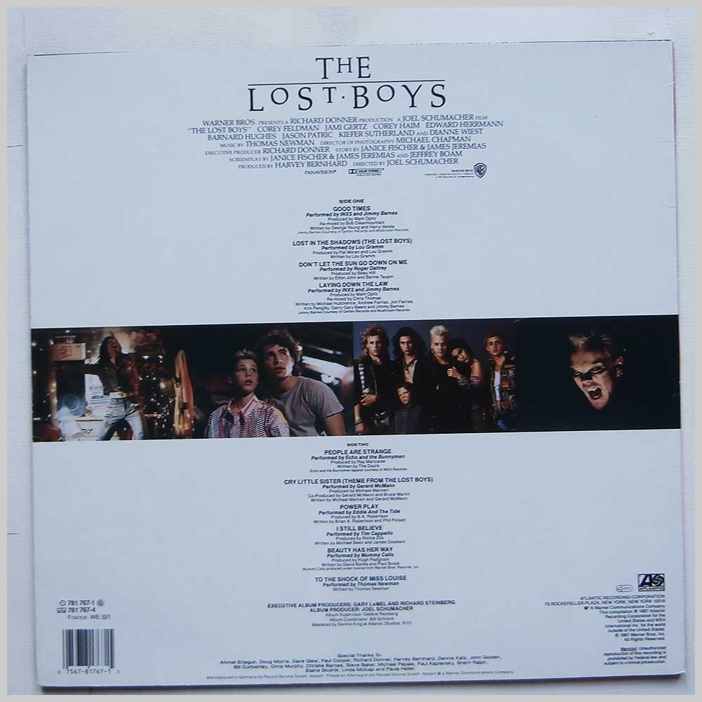Various - The Lost Boys Original Motion Picture Soundtrack (781 767-1)