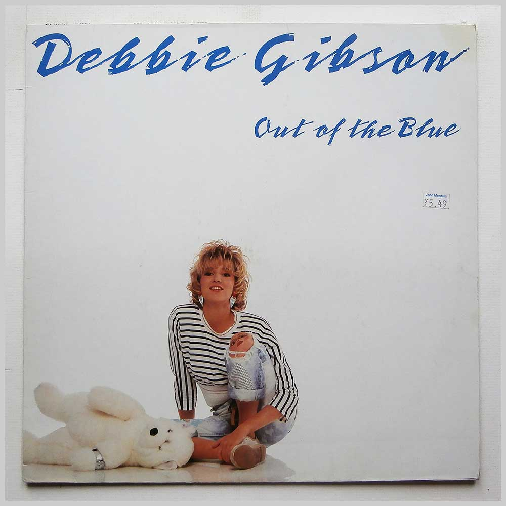 Debbie Gibson - Out Of The Blue (781 780-1)