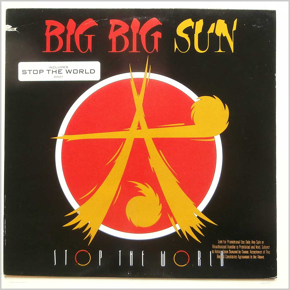 Big Big Sun - Stop The World (7 81964-1)