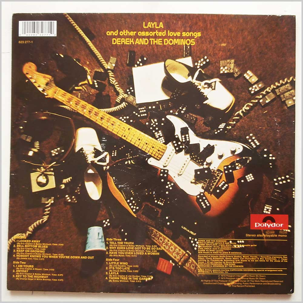 Derek And The Dominos - Layla And Other Assorted Love Songs (823 277-1)