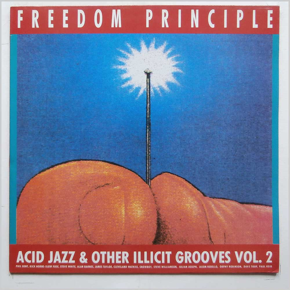 Various - Freedom Principle: Acid Jazz and Other Illicit Grooves Vol. 2 (837 925-1)