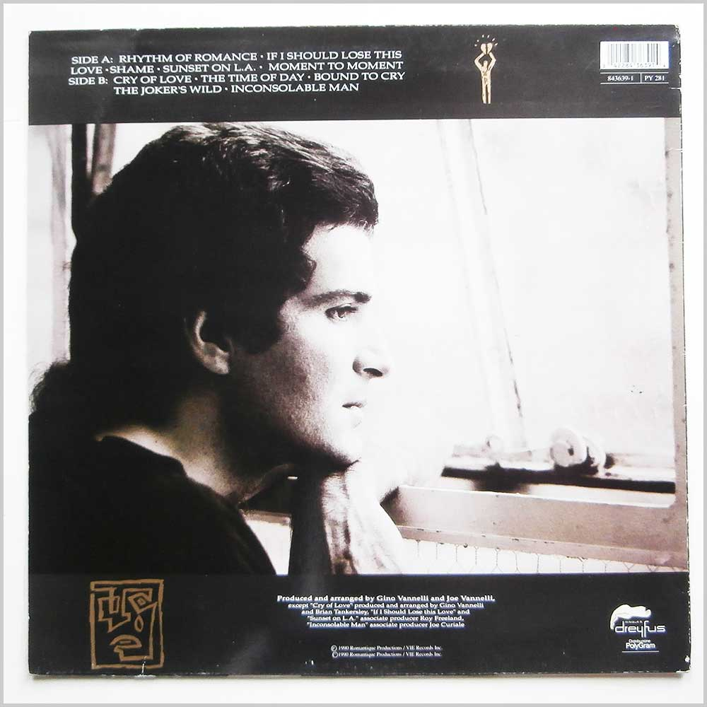 Gino Vannelli - Inconsolable Man (843639-1)