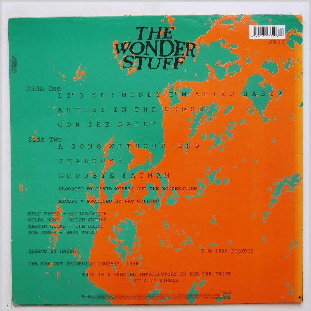 The Wonder Stuff - It's Yer Money I'm After Baby (887 911-1)