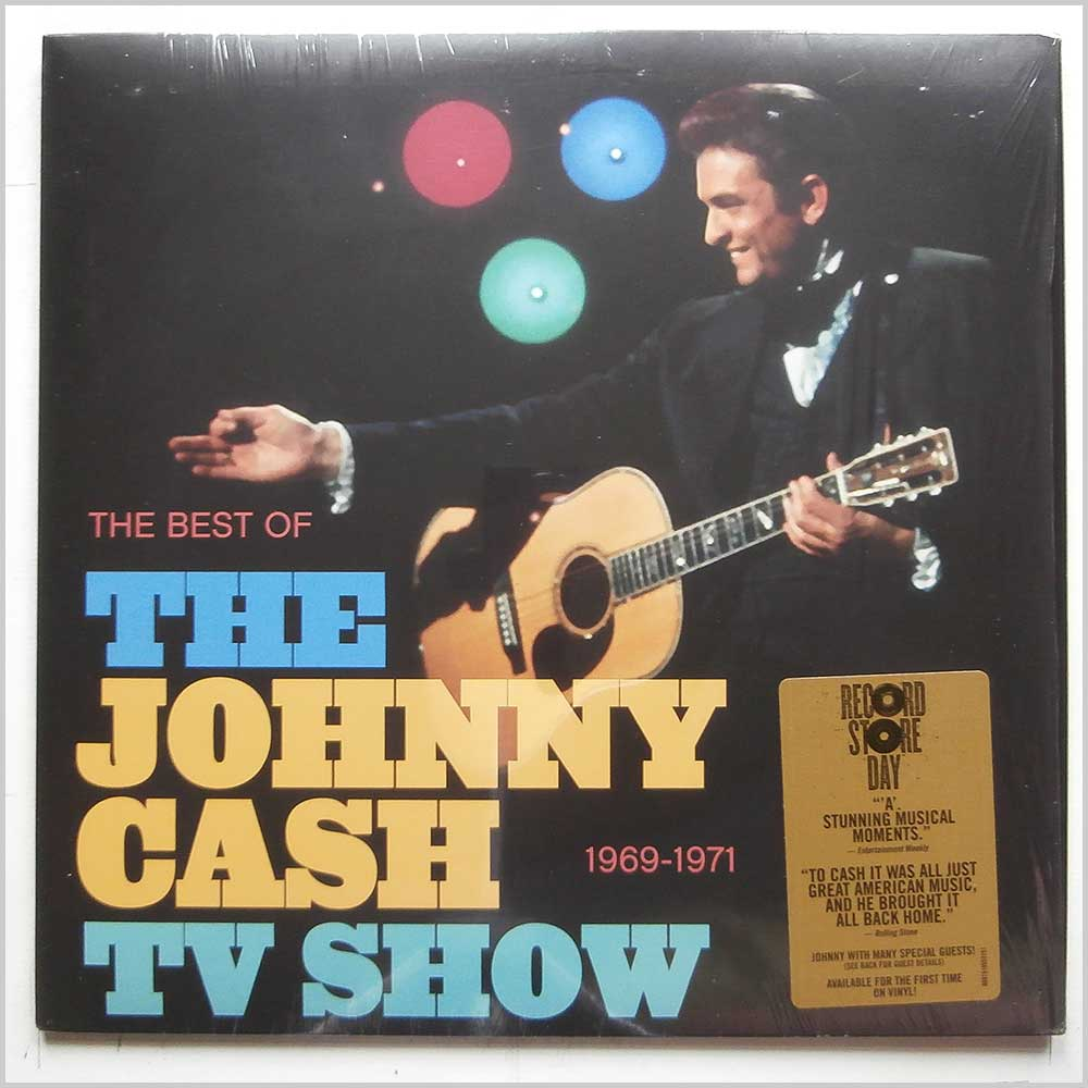 Johnny Cash - The Best Of The Johnny Cash TV Show 1969-1971 (88875195531)