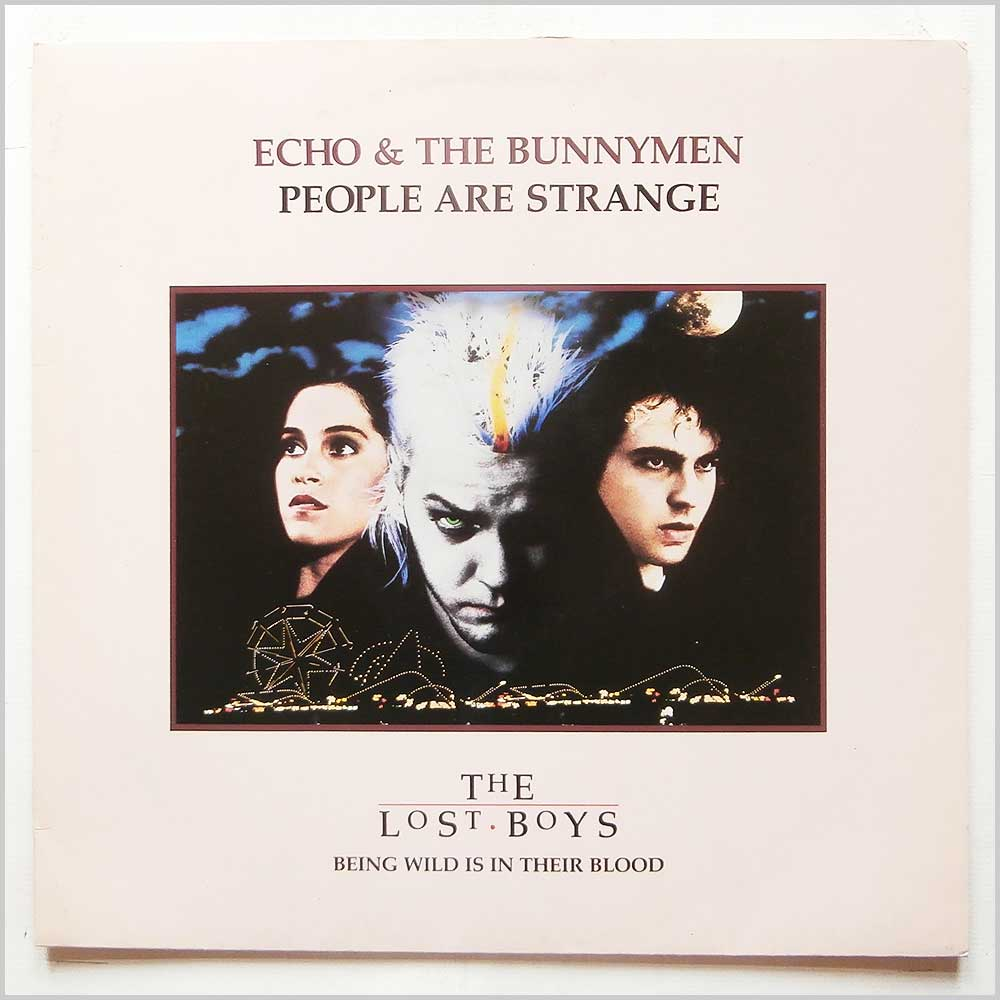 Echo and The Bunnymen - People Are Strange (9031-73792-0)