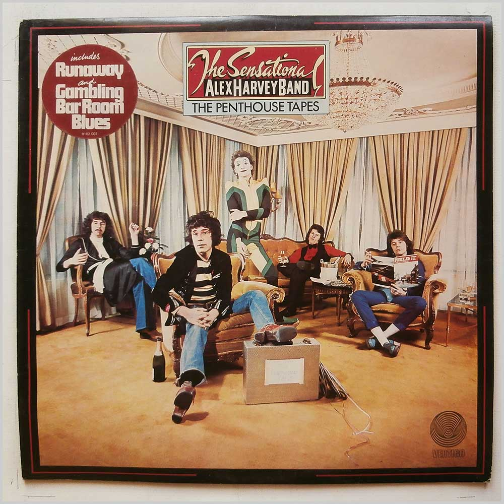 The Sensational Alex Harvey Band - The Penthouse Tapes (9102 007)