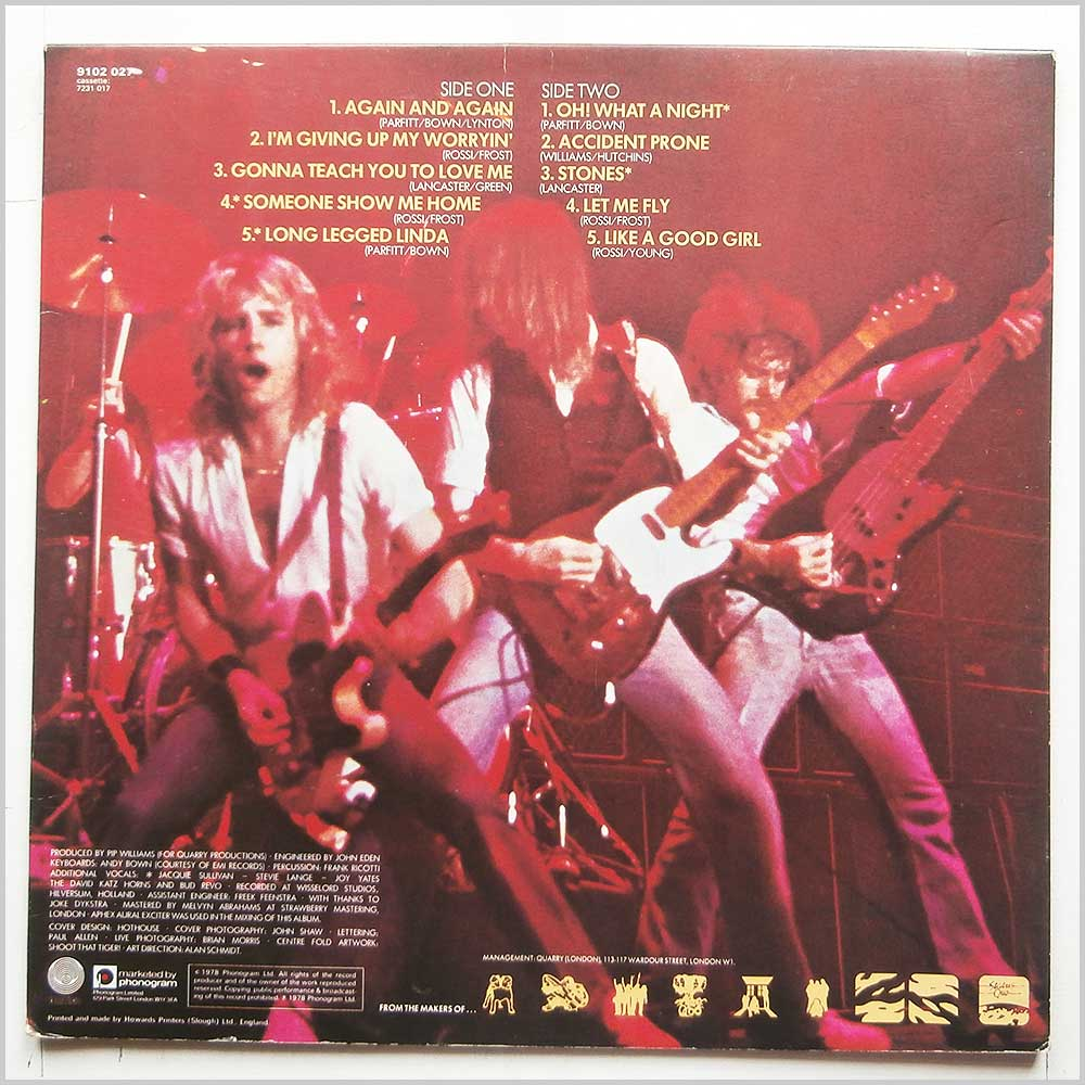 Status Quo - If You Can't Stand The Heat (9102 027)