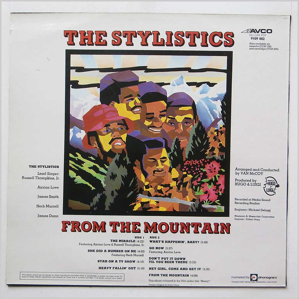 The Stylistics - From The Mountain (9109 002)