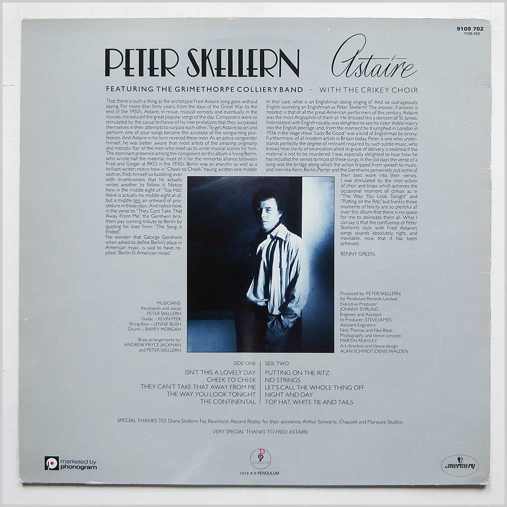 Peter Skellern - Astaire (9109 702)