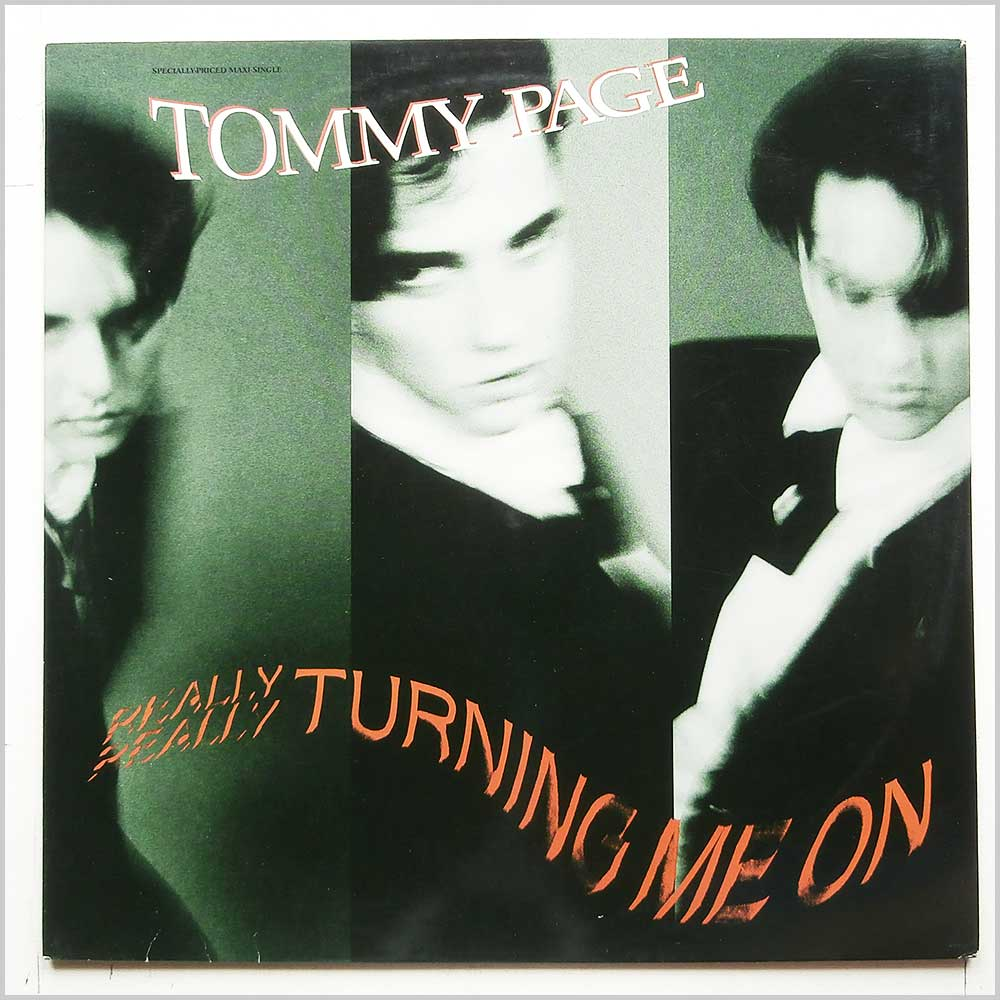 Tommy Page - Turning Me On (9 20909-0)