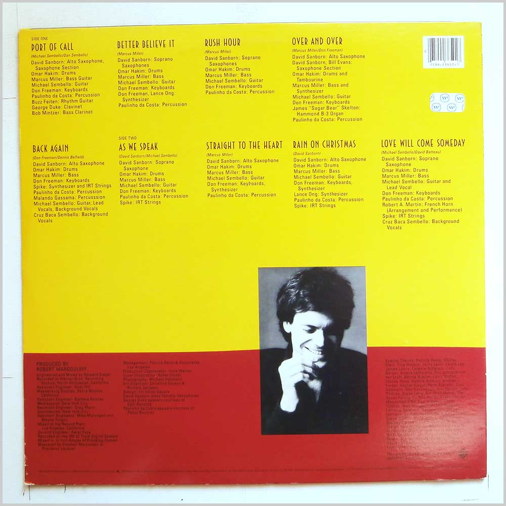 David Sanborn - As We Speak (9 23650-1)