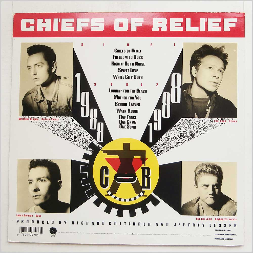Chiefs Of Relief - Chiefs Of Relief (9 25703-1)