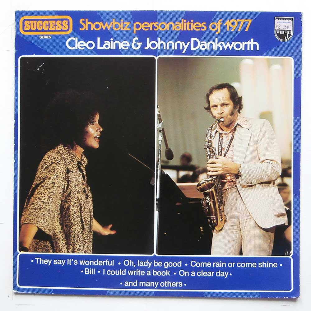 Cleo Laine, Johnny Dankworth and His Orchestra - Showbiz Personalities of 1977 (9279 304)