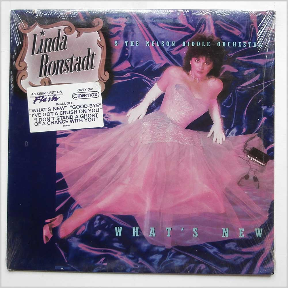 Linda Ronstadt and The Nelson Riddle Orchestra - What's New (9 60260)