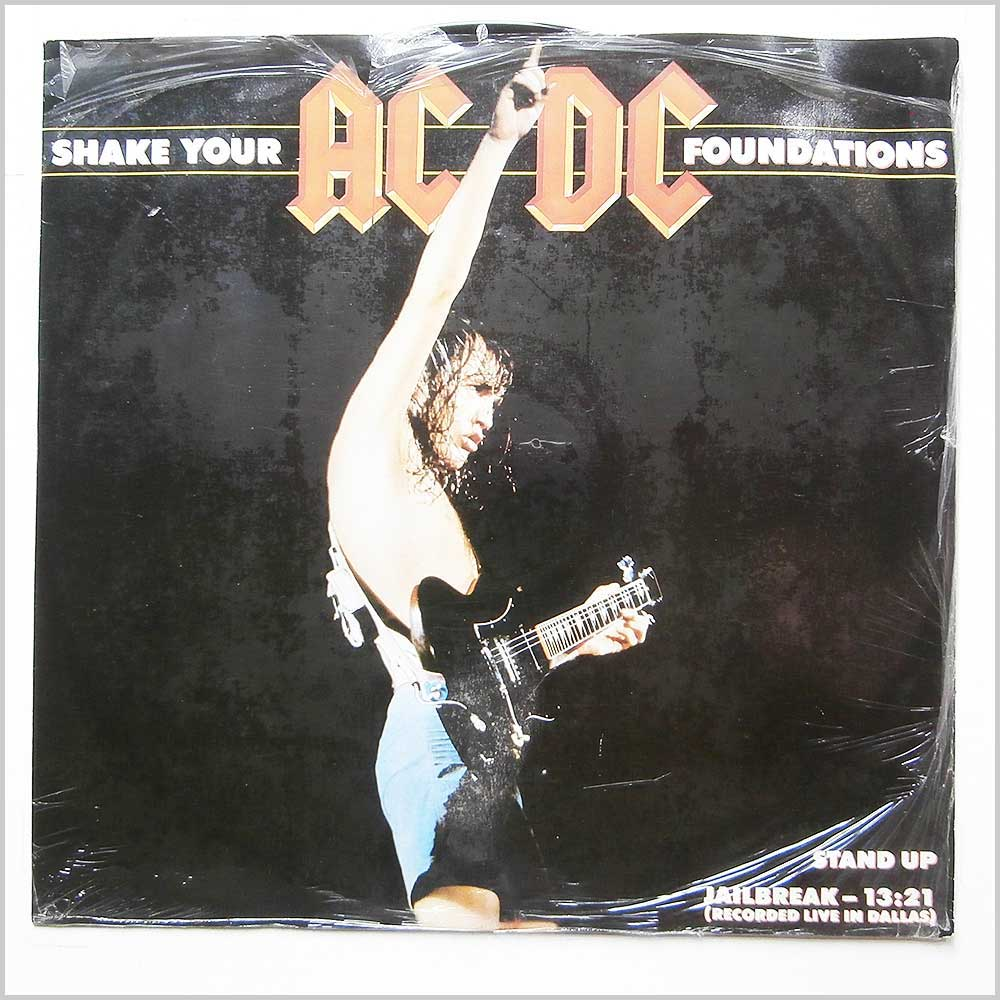 AC/DC - Shake Your Foundations (A947 4T)