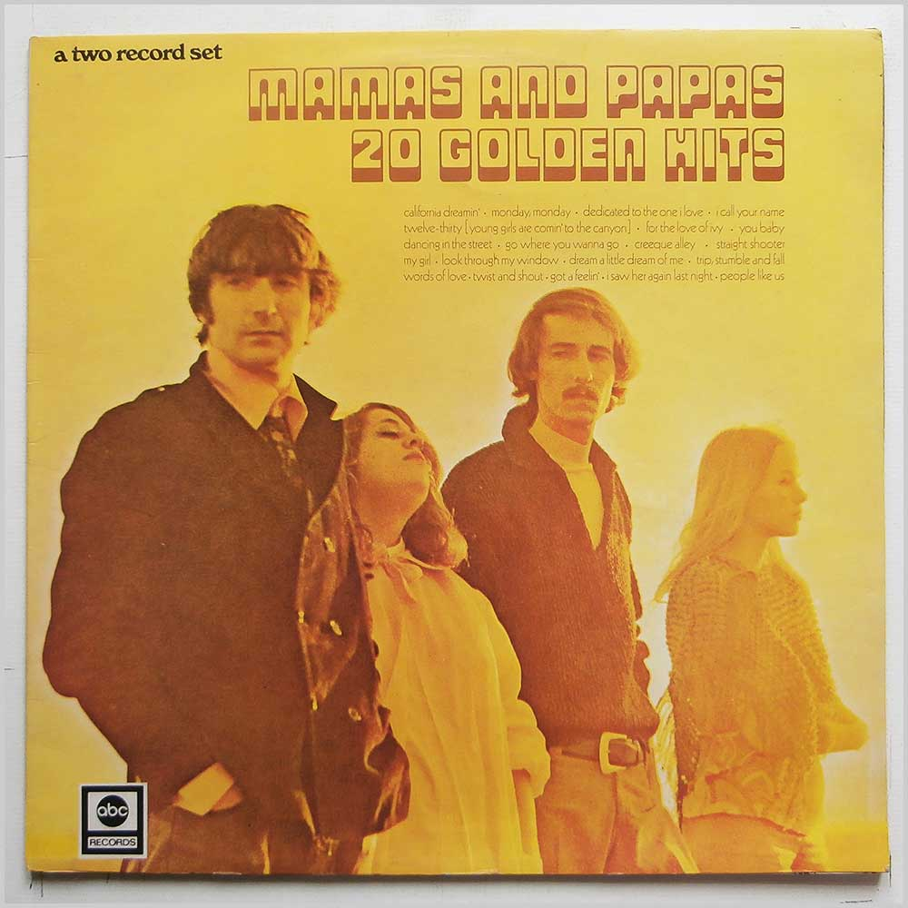 The Mamas and The Papas - 20 Golden Hits (ABCD 604)