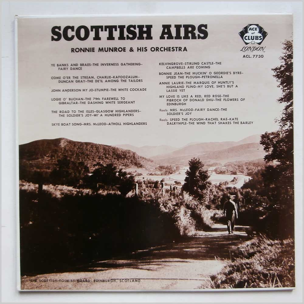 Ronnie Munroe and his Orchestra - Scottish Airs (ACL.7730)