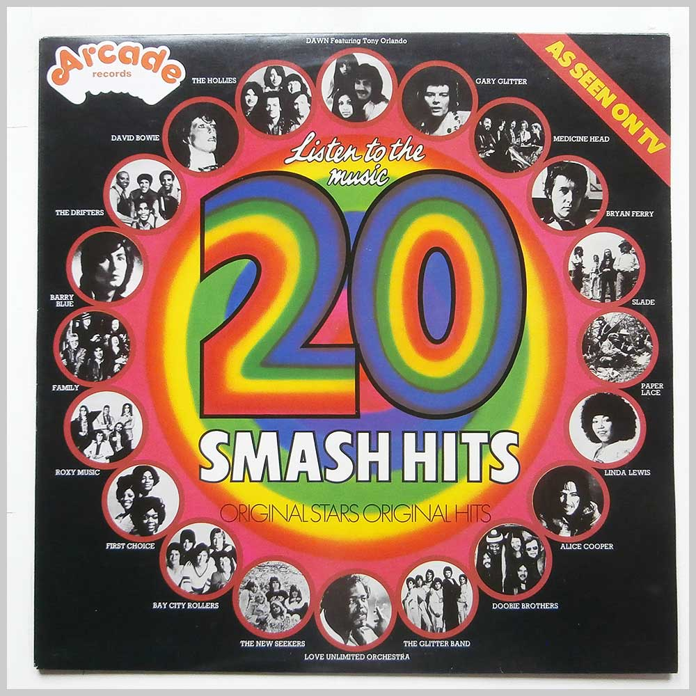 Various - Listen To The Music: 20 Smash Hits (ADEP 11)