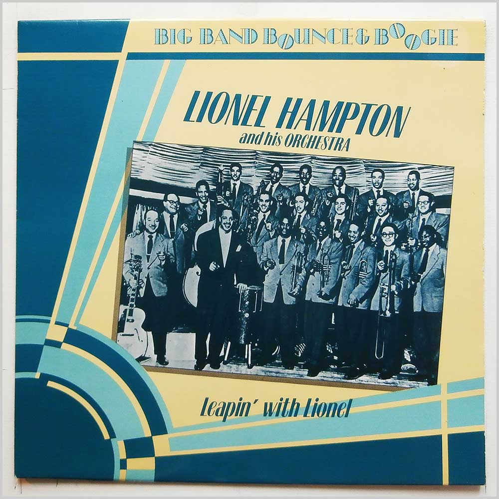 Lionel Hampton and His Orchestra - Leapin' With Lionel (AFS 1000)