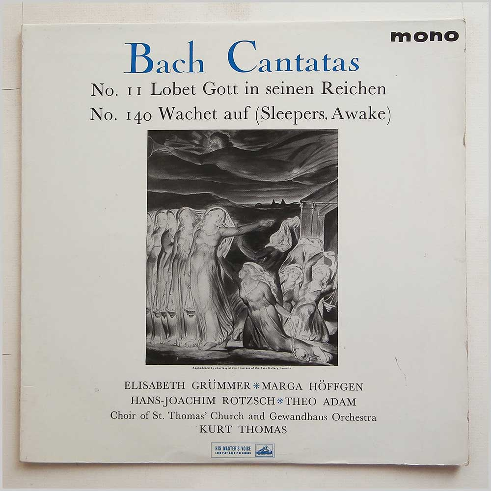 Choir Of St. Thomas' Church and Gewandhaus Orchestra - Bach Cantatas Nos. 11 and 140 (ALP 1828)